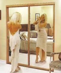 Mirror Sliding Closet Doors Stylish Mirrored Closet Doors