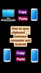 sync clipboard between your computer and android device