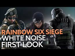 R6 Siege Operation White Noise Ela And Twitch Rainbow Six Siege S Operation White Noise Has Been Fully Unveiled
