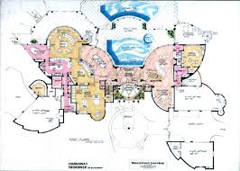 contemporary homes floor plans luxury home plans european castles villa and mansion houses