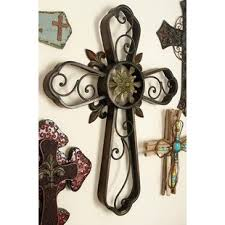 crosses wall decor decorative metal wall crosses wayfair