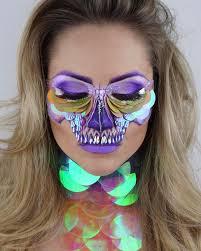 makeup artist halloween skeleton makeup artist popsugar beauty