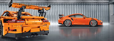 lego porsche 919 lego version of porsche 911 gt3 rs next to the real porsche 911 gt3 rs