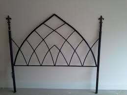 wrought iron bed frames uk frame decorations
