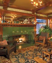 craftsman style home interior living room and craft room decoration craftsman style house