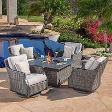 Firepit Patio Table Patio Pit Table Awesome Pits Chat Sets Costco Regarding