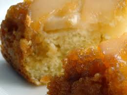 ginger pear upside down cake with lime zest recipe pear limes