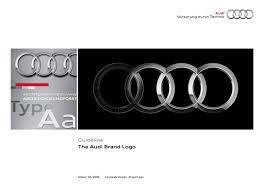 logo audi audi brand guidelines by lukasz kulakowski issuu