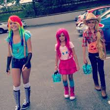 my little pony friendship is magic halloween costumes rainbow