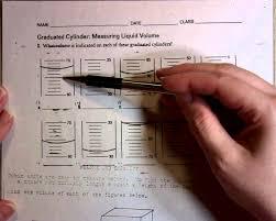 measuring liquid volume worksheet worksheets