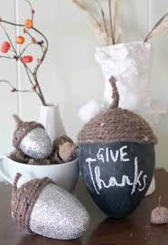 thanksgiving material decorations pine seed inspired give thanks craft idea alongside