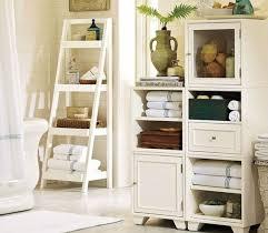 Leaning Ladder Shelf White Ladder Wall Shelf White