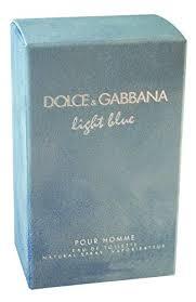 dolce and gabbana light blue 3 3 oz amazon d g light blue by dolce gabbana for men eau de toilette spray