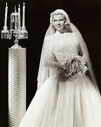 wedding day dresses doris day posing in a wedding dress 1950s wedding