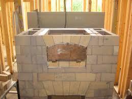 galax va brick faced double bell masonry heater fire works