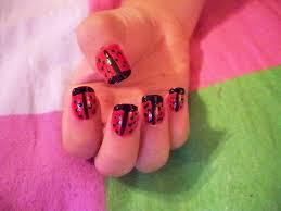 the girls create ladybug nail designs ladybug nail designs biz
