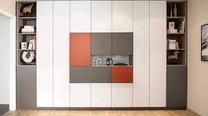 placard encastrable chambre placard coulissant sur mesure sous escalier mural côté maison