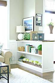 marvelous half wall room divider images best inspiration home