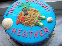 Tropical Theme Birthday Cake - cakery cakes papery u0026 cakery
