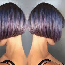 short cut tri color hair beautiful blunt bob hair ideas popular haircuts