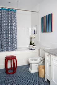 Ideas For Kids Bathroom Best 20 Blue Penny Tile Ideas On Pinterest Subway Tile Showers