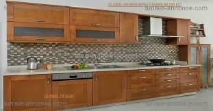 meuble de cuisine en bois porte de cuisine en bois brut simple meuble cuisine bas bois brut
