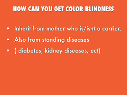 Cause Of Colour Blindness What Causes You To Be Color Blind By Tim Obenauf