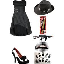 Woman Gangster Halloween Costumes Halloween Idea 8 Female Gangster Polyvore