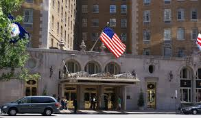 Hotels Washington Dc Map by File Mayflower Hotel In Washington D C Front Entrance Jpg