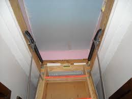 attic stair insulation photos jamey tippens
