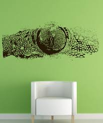 Vinyl Wall Decals by Vinyl Wall Decal Sticker Lizard Eye 5524