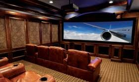 Simple Home Theater Design Concepts Introducing Charm And Playfulness In Your Home With A Walk In