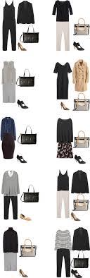 over 40 work clothing capsule basic work capsule wardrobe 40 outfit ideas capsule wardrobe