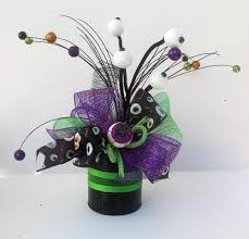 halloween party arrangement eyeballs centerpiece halloween decor