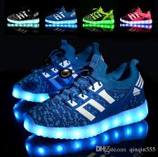 boys size 3 light up shoes new 2017 rechargable kids shoes with usb sneakers children light up