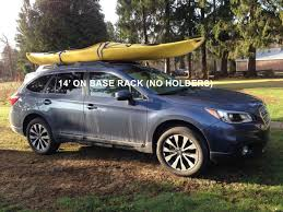 Subaru Forester 2014 Crossbars by Angry Kayak Owner Page 3 Subaru Outback Subaru Outback Forums
