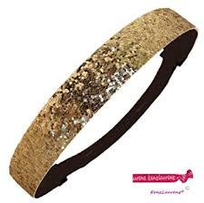 gold headbands gold glitter sparkly sports headbands glitter