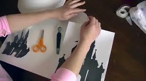 diy disney lamp shade tutorial youtube