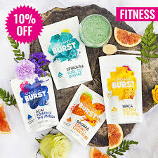 hair burst amazon fitness bundle by organic burst