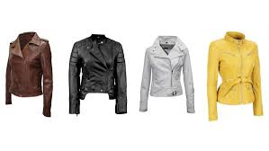 ladies leather motorcycle jacket top 10 best leather jackets for women