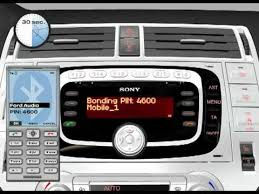 how to set up bluetooth on ford focus ford sony mobile phone connection