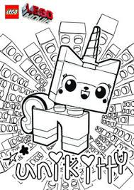 unikitty mask the lego movie free printables coloring pages