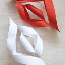 White Paper Christmas Decorations To Make by How To Make Christmas Decorations Ideal Home