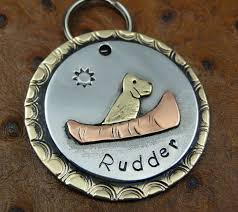Engravable Dog Tags Putting On The Dog Custom Pet Accessories Made By Custommade
