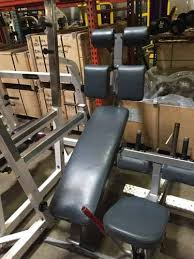 Nautilus Bench Used Freeweight Benches Csm Fitness Equipment