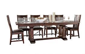 amazon com intercon hayden rough sawn u0026 espresso 7 piece dining