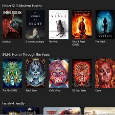 itunes horror movie sale celebrates halloween with discounted old