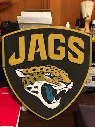 fan foam 3d wall sign nfl jaguars 3d fan foam logo and wall sign sports outdoors in