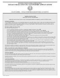 texas fireworks tax forms ap 201 texas application for sales tax perm u2026
