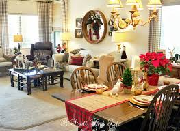 Dash Of Darling Home Tour by A Stroll Thru Life Christmas Tour Part 2 Family Room